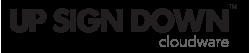 Up-Sign-Down-software-logo-black